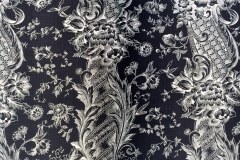 Coco In White On Black Classic Linen