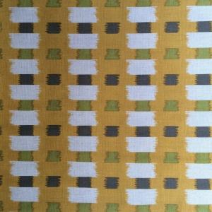 Junction Stripe - Yellow, Grey & Green