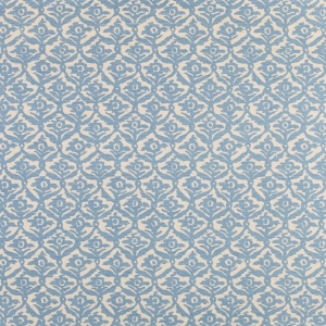 Kate Trellis on Sisal Wallpaper - Light Blue