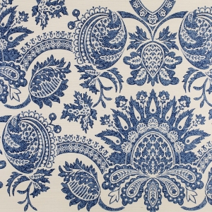 St. Peters on Sisal Wallpaper - Blue