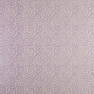 Downton Ivy on Sisal Wallpaper - Lilac