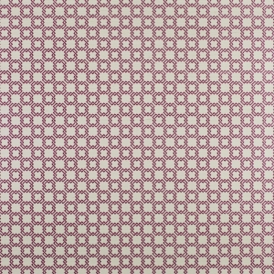 Oskia on Sisal Wallpaper - Plum