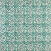 Vence on Sisal Wallpaper - Jade Green