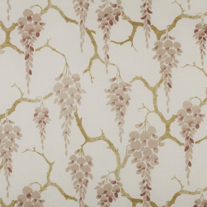 Sakura on Classic Linen - Almondine/Stone Green/Light Taupe