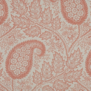 Physic on Linen - Salmon Pink