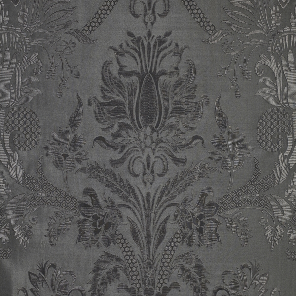 Cambourne Silk Damask Burgundy Bernard Thorp Fabric