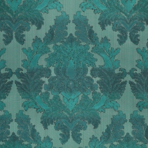 Textured Damask F23124 102 Honeybird Seaweed Kingfisher