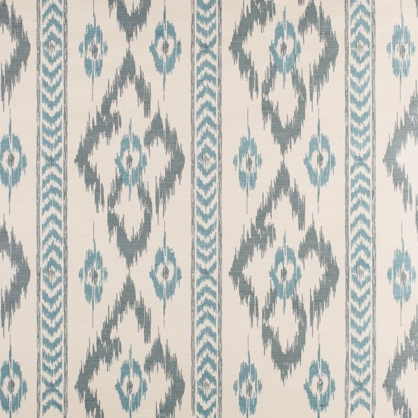 Chevron Diamond - Sisal Printed Wallpaper
