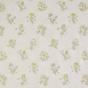 Heathfield on Classic Linen- Oyster-Lime Green, Grey