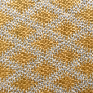 Lindi Diamond on natural hopsack linen Col 185