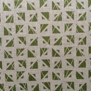Meli on natural hopsack linen Col 255