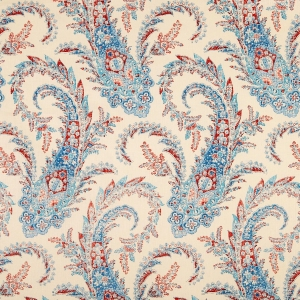 PALME - BLUE - CLASSIC LINEN OYSTER