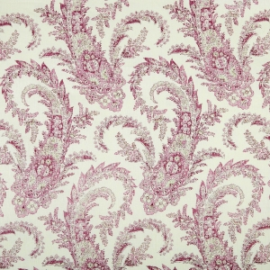PALME - PLUM & TAUPE- CLASSIC LINEN OYSTER