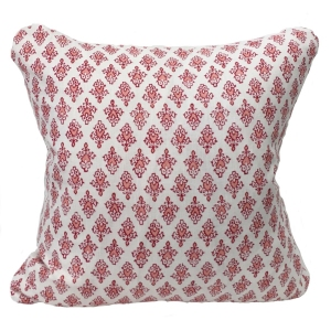 Mahal Cushion Large - Red