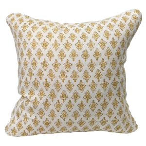 Mahal Cushion Large - Yellow (2)