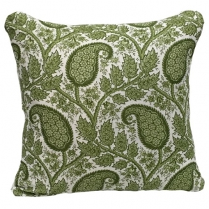 Physic Linen Cushion Large - Green