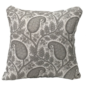 Physic Linen Cushion Large - Grey