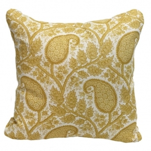 Physic Linen Cushion Large - Yellow