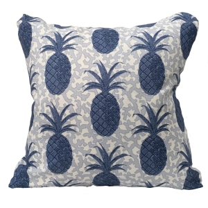 Pineapple Cushion Large - Blue (2)