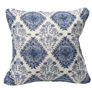 Yamuna Linen Cushion Large - Blue