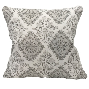 Yamuna Linen Cushion Large - Grey