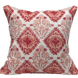 Yamuna Linen Cushion Large - Red