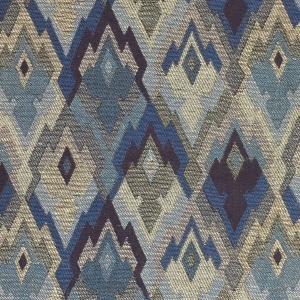Aztec Geo - French Blue - 09