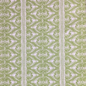 Alison Border on Chelsea Linen - Colour 331 Greenery