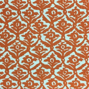 Kate Trellis on Chelsea Linen - Colour 333 Flame