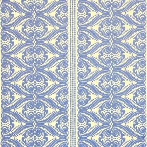 Alison Border Wallpaper - Lapis Blue (2)