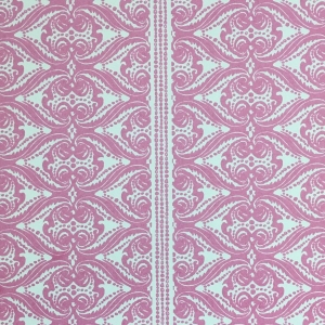 Alison Border Wallpaper - Pink Yarrow (2)