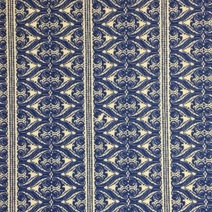 Alison Border on Chelsea Linen - Lapis Blue 337