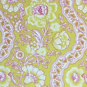 Antoinette on Chelsea Linen - Primrose Yellow
