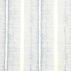 Cornwall Stripe Wallpaper - Niagara Blue
