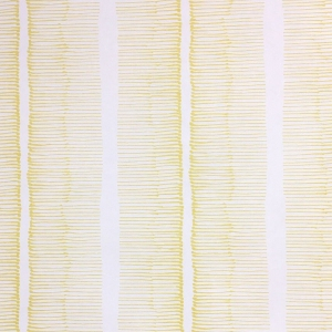 Cornwall Stripe Wallpaper - Primrose Yellow