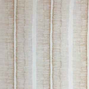 Cornwall Stripe on Chelsea Linen - Hazelnut 338