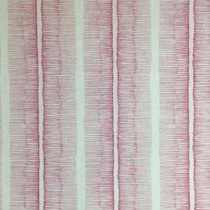 Cornwall Stripe on Chelsea Linen - Pink Yarrow 75