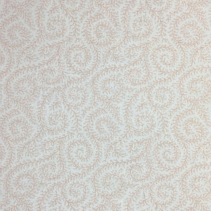 Downton Ivy on Chelsea Linen - Pale Dogwood