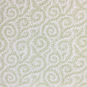 Downton Ivy on Chelsea Linen - Greenery
