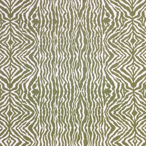 Grevy's Zebra Stripe Wallpaper - Kale