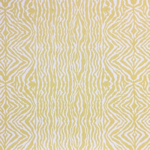 Grevy's Zebra Stripe Wallpaper - Primrose Yellow