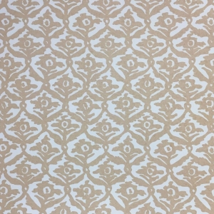 Kate Trellis Wallpaper - Hazelnut