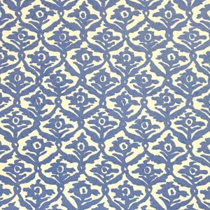Kate Trellis Wallpaper - Lapis Blue