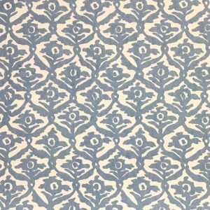 Kate Trellis Wallpaper - Niagara Blue