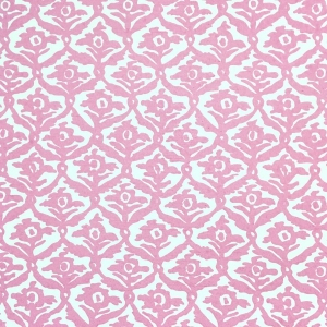 Kate Trellis Wallpaper - Pink Yarrow