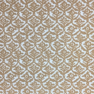 Kate Trellis on Chelsea Linen - Hazelnut 338