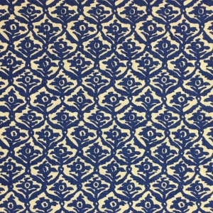 Kate Trellis on Chelsea Linen - Lapis Blue 337