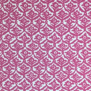 Kate Trellis on Chelsea Linen - Pink Yarrow 75