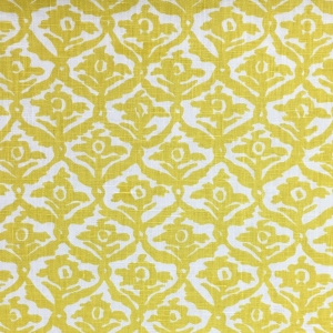 Kate Trellis on Chelsea Linen - Primrose Yellow 332