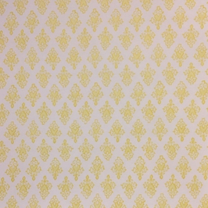 Mahal Wallpaper - Primrose Yellow